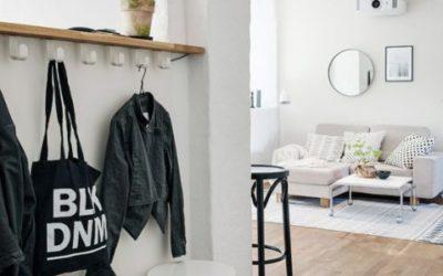 Cómo crear un hall o entrada fantástico utilizando tus pisos y paredes