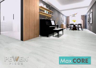 Pisos Vinílicos Sistema Click - Max Core - SPC - Linea Home - Atelier Blanco 8891