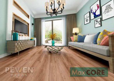 Pisos Vinílicos Sistema Click - Max Core - SPC - Linea Home - Incienso 8889