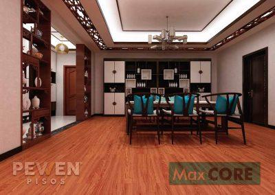 Pisos Vinílicos Sistema Click - Max Core - SPC - Linea Home - Merbau 8009
