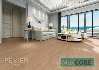 Pisos Vinílicos Sistema Click - Max Core - SPC - Linea Home - Roble Americano 8010