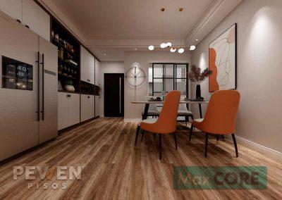 Pisos Vinílicos Sistema Click - Max Core - SPC - Linea Home - Roble Harbour 8884