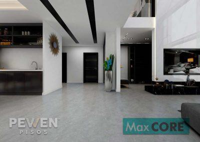 Piso vinílico Concreto - 300 - Max Core