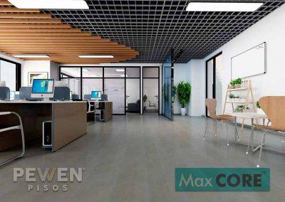 Piso vinílico Cemento Alisado Oscuro - 3003 - Max Core