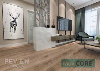 Piso vinílico - Max Core- Rustic XL - 4002 - Eolo