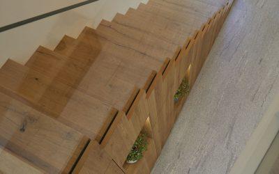 Escaleras ¿Qué material puedo usar?