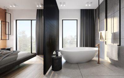Si quiero una bañera independiente de la ducha ¿qué piso debo usar?