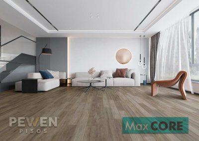 Piso vinílico - Max Core- Narrow - 1103 - Roble Oslo